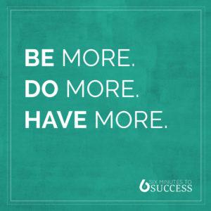 Six Minutes to Success Coaching