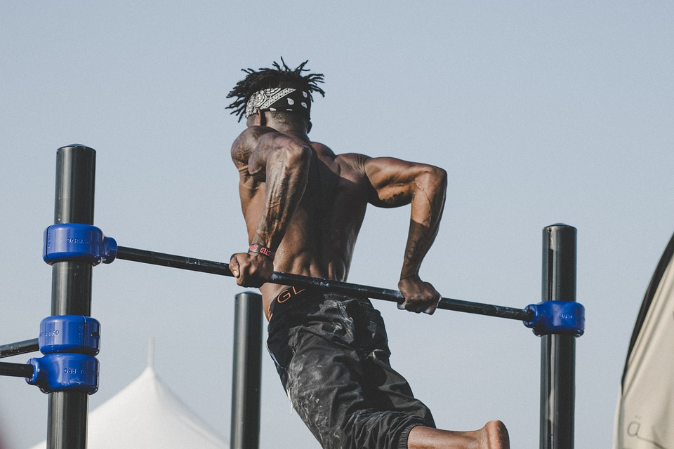 Man Workout for Better Health With the Law of Attraction