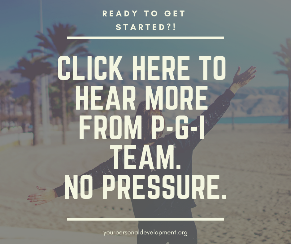 Click Here to Hear More From PGI Team. No Pressure