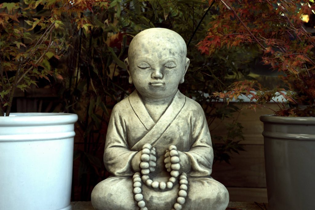 Little Buddha Meditating
