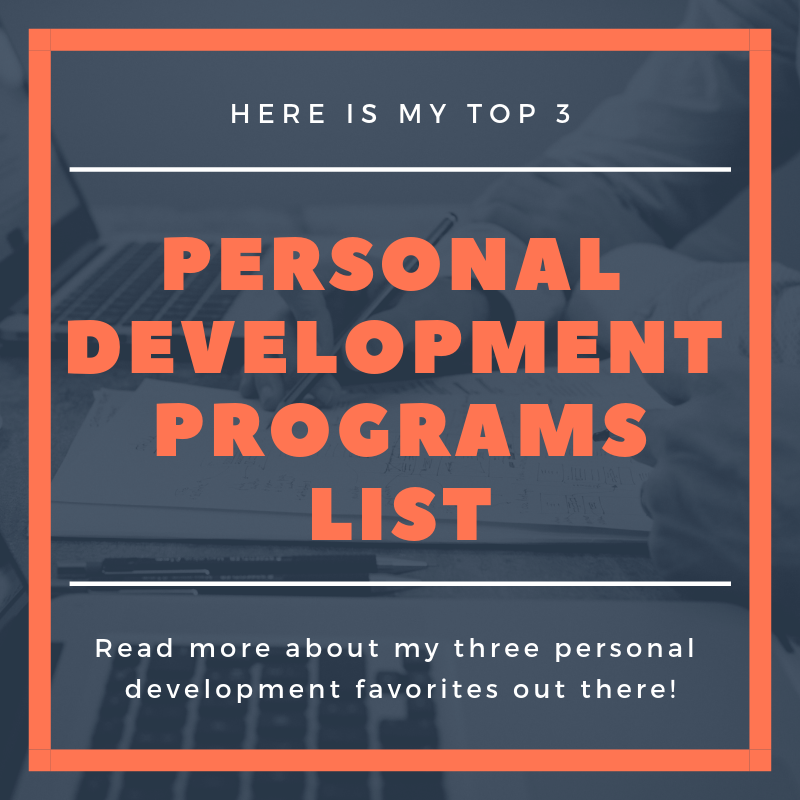 Personal Development Programs Banner