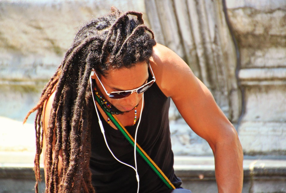 Rasta Playing Music