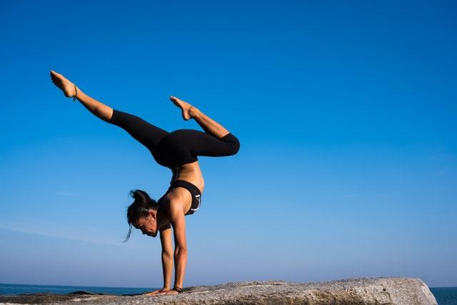 Balance Fitness Girl